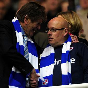 John Madejski, left, believes Brian McDermott is doing an excellent job as Reading manager