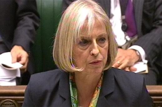 Theresa May: determined to get powers passed into law