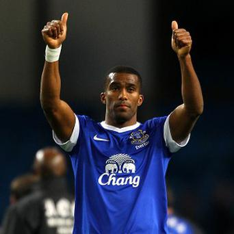 Sylvain Distin praised Everton's spirit as they fought back to defeat Tottenham