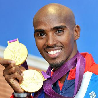 Double Olympic gold winner Mo Farah wants to train twice as hard as his rivals on Christmas Day