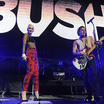 Gwen Stefani and Gavin Rossdale performed together in LA