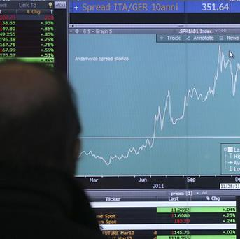There has been anxiety in the Italian markets that a new government will not follow through on Mario Monti's reforms