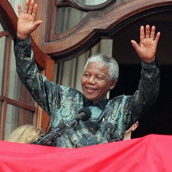 Nelson Mandela, 94, is responding to treatment for a lung infection
