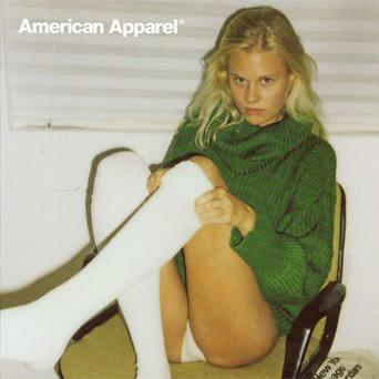 The American Apparel advert which has been criticised by the advertising watchdog