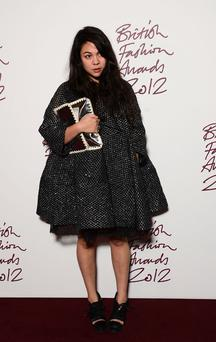 Simone, who is John Rocha's daughter, has emerged as a rising fashion talent