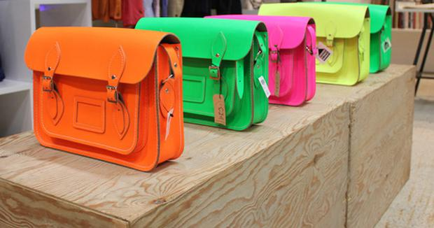 Bags from the Cambridge Satchel Company .