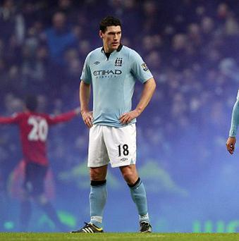 The FA have charged Gareth Barry for using abusive and/or insulting words towards a match official in the Manchester derby