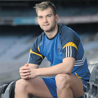 Mayo star Aidan O'Shea pictured in Croke Park yesterday