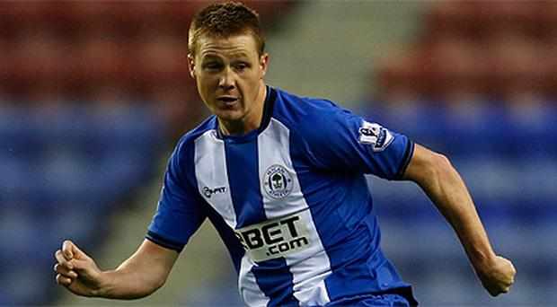 James McCarthy in action for Wigan
