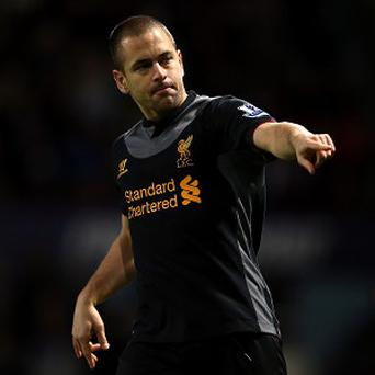 Joe Cole has endured an injury-hit season resulting in sporadic appearances for Liverpool