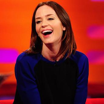 Emily Blunt could be in the frame for Transcendence