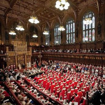 Lady Trumpington queried the heating facilities of the House of Lords chamber