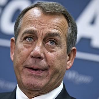 House Speaker John Boehner said the president is 'not serious' about cutting spending (AP)