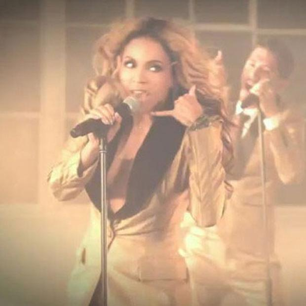 Beyonce in Love on Top