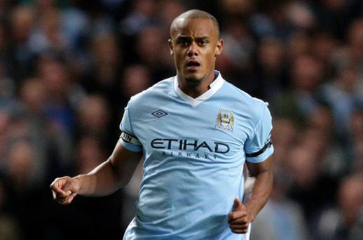 Vincent Kompany. Photo: PA