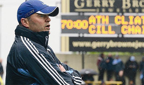 Dublin hurling manager Anthony Daly