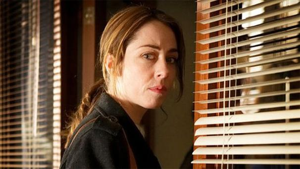 Sofie Grabol as Sara Lund in The Killing.