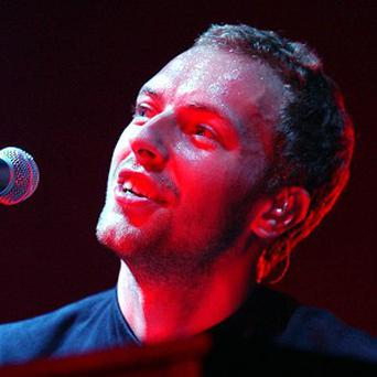 London Fire Brigade said they would help stop Chris Martin causing trouble in the kitchen