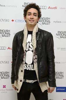 LONDON, ENGLAND - DECEMBER 13: Robert Sheehan attends the English National Ballets Christmas Party at St Martins Lane Hotel on December 13, 2012 in London, England. (Photo by Ben Pruchnie/Getty Images)
