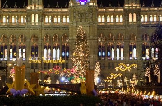 Vienna by the christmas-market
