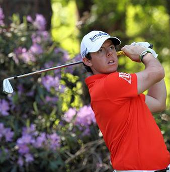 Rory McIlroy described his Golf Writers Trophy accolade as a 'great honour'
