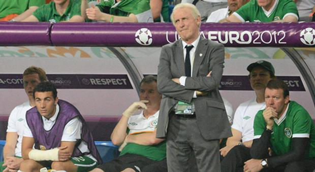 The faces of Ireland manager Giovanni Trapattoni and others on the Ireland bench sum up the mood which enveloped the camp during the European Championships.