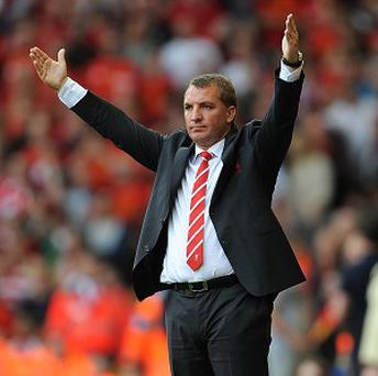 Manager Brendan Rodgers felt his Liverpool players were never affected by criticism
