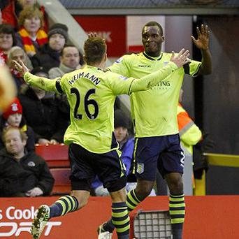 Andreas Weimann and Christian Benteke were on the scoresheet as Villa shocked Liverpool