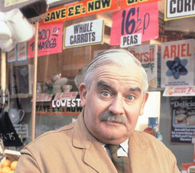 OPEN ALL HOURS: Few entrepreneurs are like the TV character Arkwright, played by the late Ronnie Barker