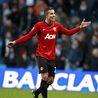 Robin Van Persie took his tally at Manchester United to 15 goals in 21 games