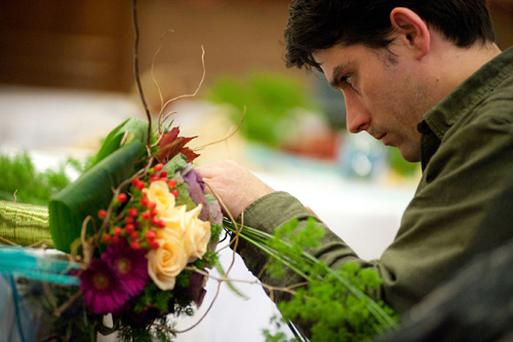 Vinny Yeates florist of the year