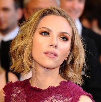 Scarlett Johansson has got a new tattoo on her rib cage