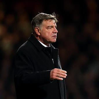 Sam Allardyce was proud of the point earned by his injury-hit side