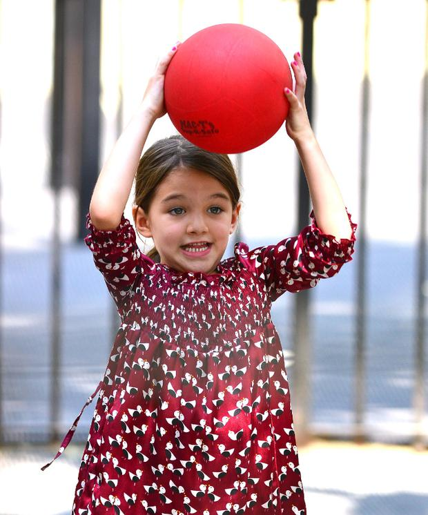 """Suri is only seven but she is incredibly interested in clothes,"""" according to a friend."""