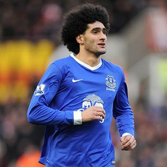 Marouane Fellaini's suspension is a big blow to Everton