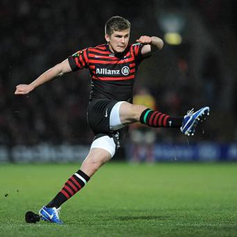 Owen Farrell claimed 14 points with the boot as Saracens defeated Munster