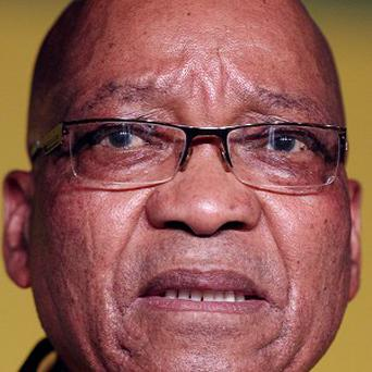 Jacob Zuma has been re-elected head of the ANC (AP)