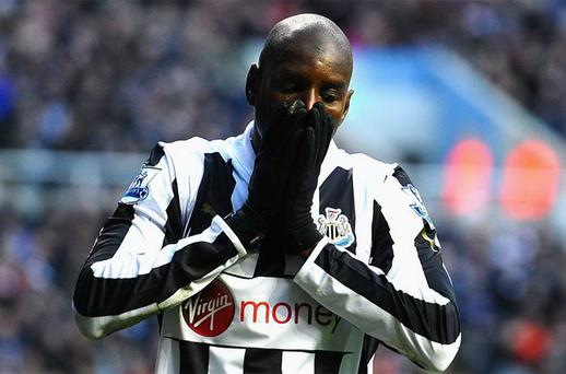 Demba Ba. Photo: Getty Images
