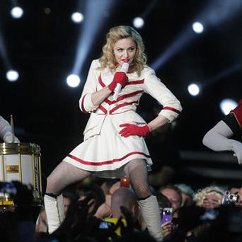 Madonna's world tour has been the most successful of 2012
