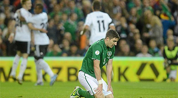 Ireland suffered a record 6-1 home defeat to Germany in October