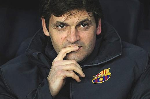 Tito Vilanova, Photo: AP