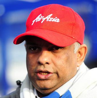 Tony Fernandes, pictured, admits he wanted Harry Redknapp as QPR manager