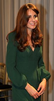 The Duchess of Cambridge after the BBC Sports Personality of the Year Awards 2012 at ExCeL London. PRESS ASSOCIATION Photo. Picture date: Sunday December 16, 2012. See PA story SPORT SPOTY. Photo credit should read: David Davies/PA Wire