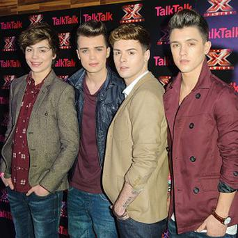Union J came fourth on this year's X Factor