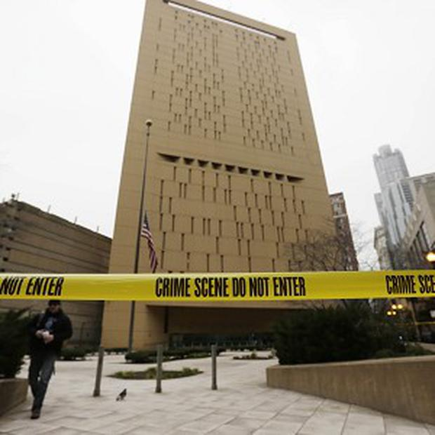 Two prisoners climbed down 20 storeys of a Chicago prison to escape (AP)
