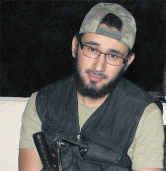 Hudhaifa El Sayed (23), who was killed during fighting in Syria on Tuesday