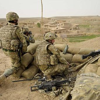 The UK force in Afghanistan will be reduced from 9,000 to 5,200 by the end of next year