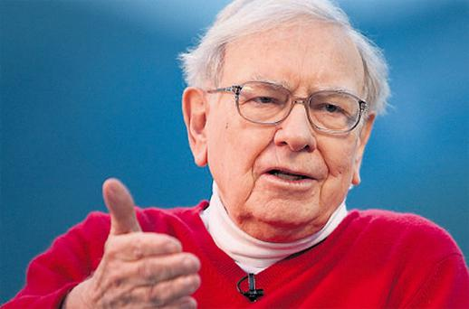 Warren Buffett, chairman of Berkshire Hathaway, buys when there is blood in the street, finds solid companies at great prices, and keeps them 'forever'.