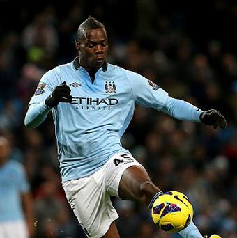 Mario Balotelli has been fined two weeks wages by Manchester City