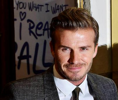 Beckham ordered the luxury sleepwear from London's high end department store Harrods.